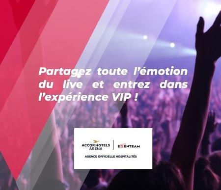 Eventeam Live présente : Eventeam Agence Officielle Hospitalités de l'AccorHotels Arena