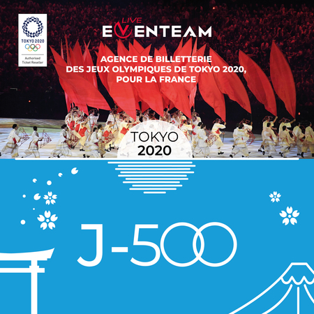 Eventeam Live présente JEUX OLYMPIQUES DE TOKYO 2020