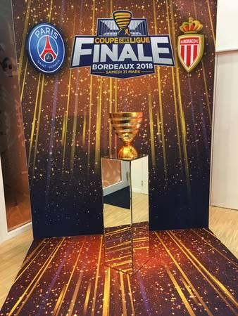 Eventeam Creativ réalisations: La LFP confie à Eventeam Creativ son programme VIP pour la Finale de la Coupe de la Ligue