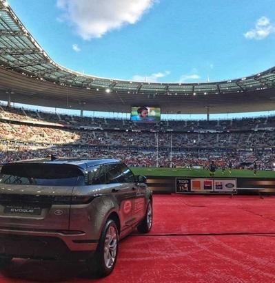 Eventeam Ideas réalisations : Gestion de Brand Content de Land Rover sur les phases finales du TOP 14